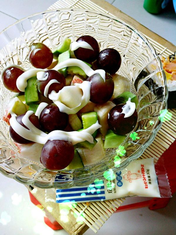 简单水果沙拉的做法