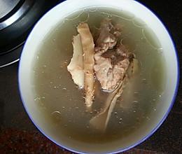 尾龙骨沙虫干汤的做法