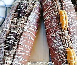 #520,美食撩动TA的心!#黑骑士面包(法芙娜可可粉)的做法