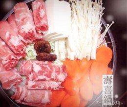 牛肉寿喜锅的做法