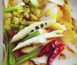 泡椒鲜笋的做法