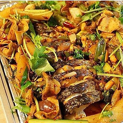 香辣烤鱼-烤箱版