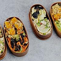 健康便当23(南瓜糙米饭+柠檬鸡丝+干锅包菜)的做法图解11