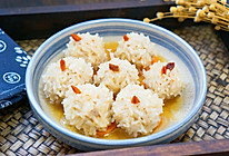 #太太乐鲜鸡汁玩转健康快手菜#糯米丸子的做法