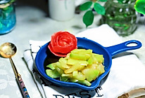 凉拌西瓜皮#春季减肥,边吃边瘦#的做法