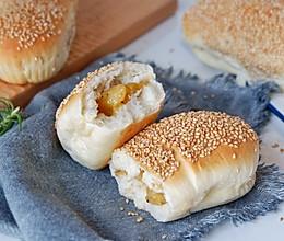 黑椒土豆泥芝麻面包的做法