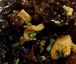 黑木耳炒肉片的做法