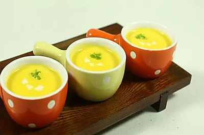 【微体】温暖   奶油南瓜汤
