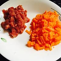 胡萝卜瘦肉粥-营养早餐粥的做法图解2