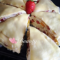 草莓芒果千层蛋糕的做法图解20