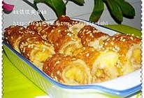 香蕉面包卷的做法