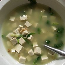 蛤蜊豆腐汤