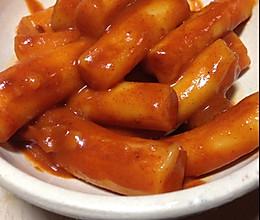 素食韓國炒年糕的做法