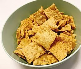 减肥小零食-炸豆皮的做法