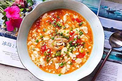 西紅柿蝦干豆腐羹