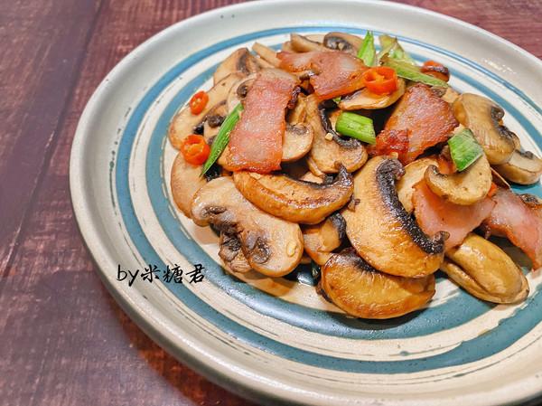 小炒口蘑,比肉还好吃