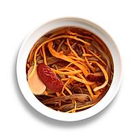 【滋补暖心】黄花菜虫草花炖鸡汤的做法图解6