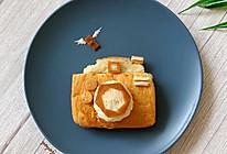 创意儿童早餐【相机面包】的做法