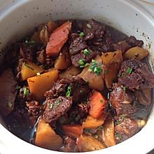 土豆炖牛肉--砂锅版