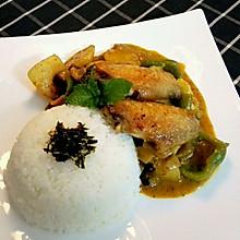 马来西亚仁当咖喱之鸡翅版