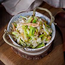 韭黄肉丝炒饭
