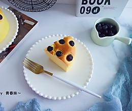 蓝莓酸奶蛋糕#做道好菜,自我宠爱!#的做法
