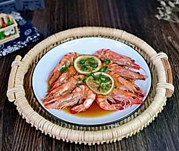#我们约饭吧#清蒸黑虎虾的做法