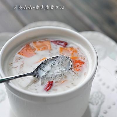 木瓜牛奶炖燕窝