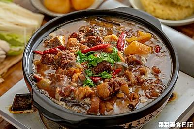 萝卜牛腩牛杂煲|驱寒暖身
