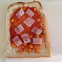 煎蛋培根吐司的做法图解7