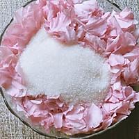盐渍樱花、樱叶&樱花酱的做法图解4