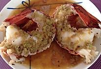 香蒜烤龙虾的做法