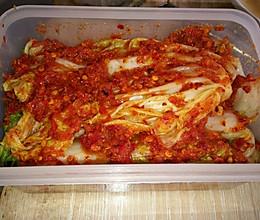 韩国辣白菜的做法