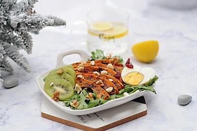 烤南瓜蔬果沙拉#520,美食撩动TA的心#