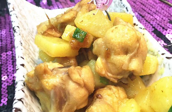 咖喱鸡块——东南亚风情吹起来