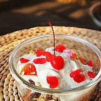 酸奶什锦早餐