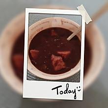 红豆芋头糖水
