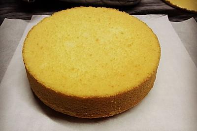 戚风蛋糕 6寸