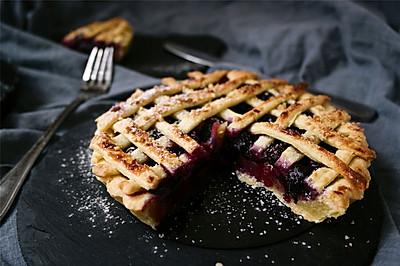 炼乳蓝莓派#美的烤箱菜谱#