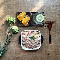 微波火腿什锦菜焗饭的做法图解7