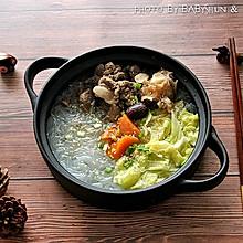 羊肉白菜粉丝煲