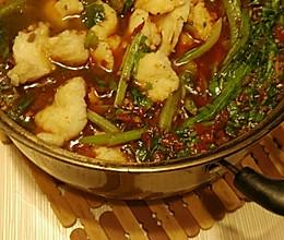 麻辣鱼火锅(快手菜)的做法