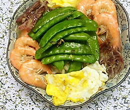 美味虾面#急速早餐#的做法