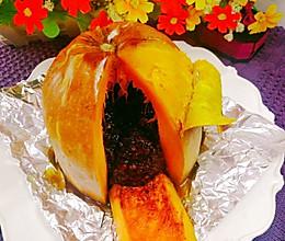 母亲节特辑双糯米红豆南瓜盅(烤箱版)