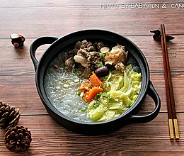 羊肉白菜粉丝煲的做法