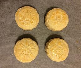 黑芝麻月饼(自制馅)的做法