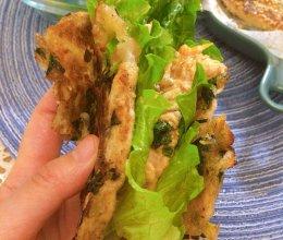 李锦记旧庄蚝油鸡排葱花卷饼的做法