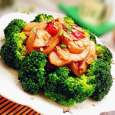 耗油杏鲍菇-----素食也可以这么精美