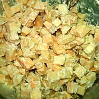 #味达美名厨福气汁,新春添口福# 红薯饼的做法图解4