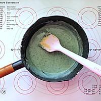 蝶豆花小熊日式棉花蛋糕卷的做法图解10